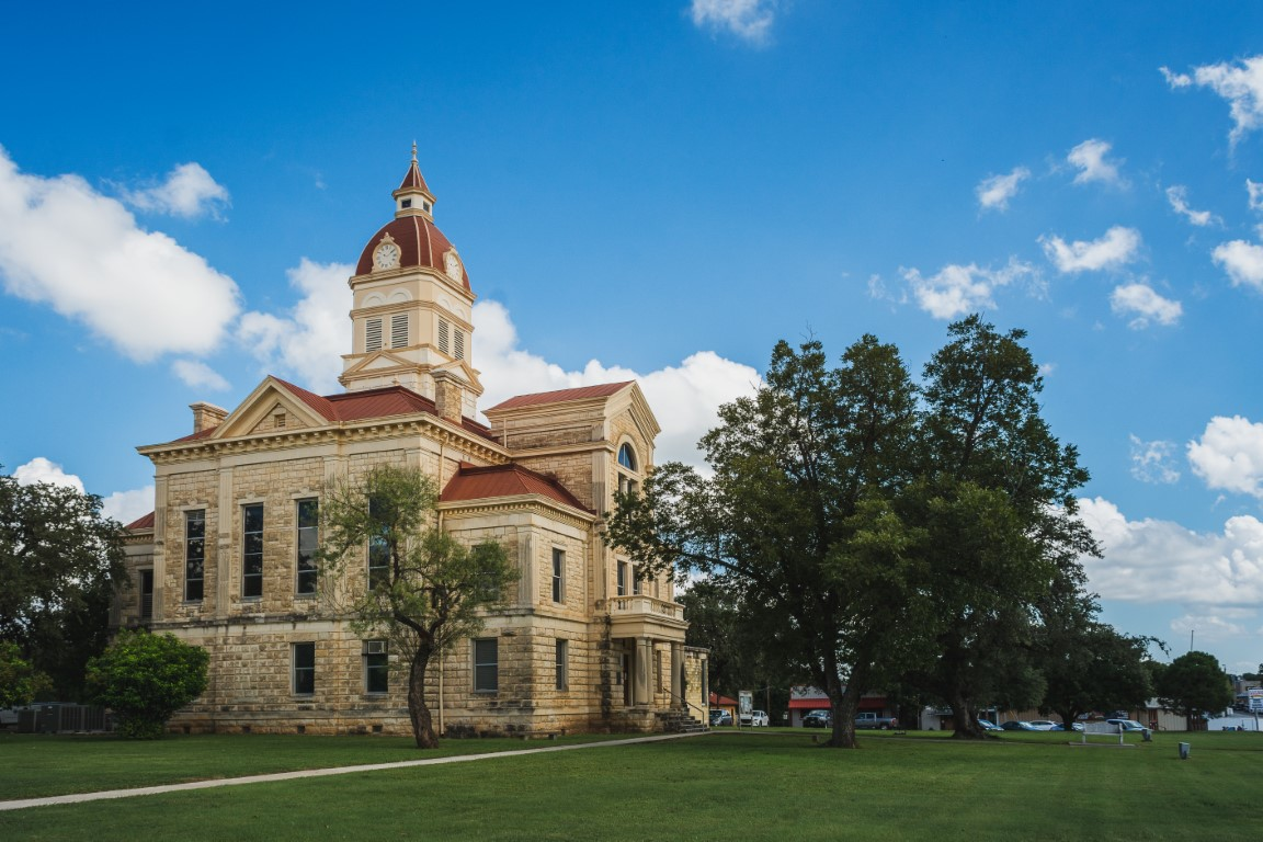 The 1890 Bandera County Courthouse